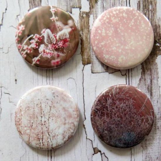 Gros Badges-Frimas rosé