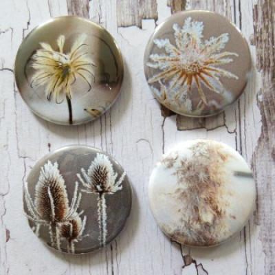 Gros Badges-Nature gelée