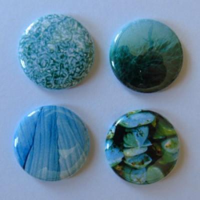 Badge texture- aqua-1