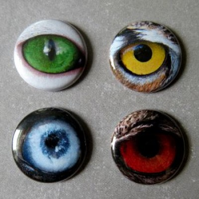 Badge yeux