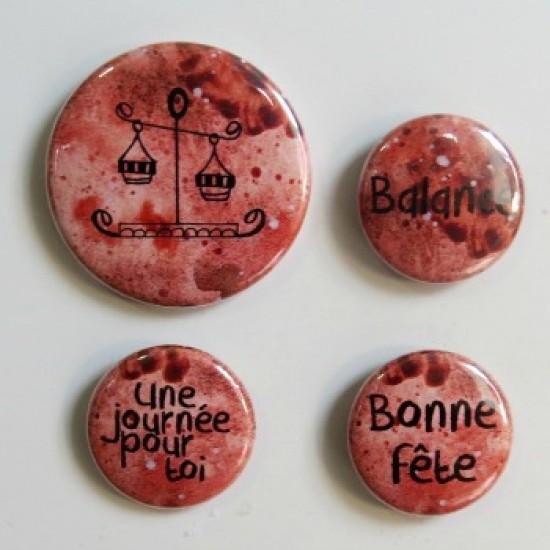 badge horoscope-balance-bronze