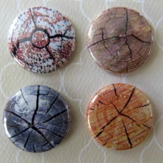 Badge texture- bûche-1