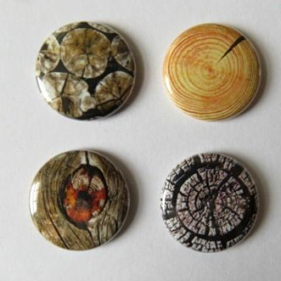 Badge texture- bûche-2