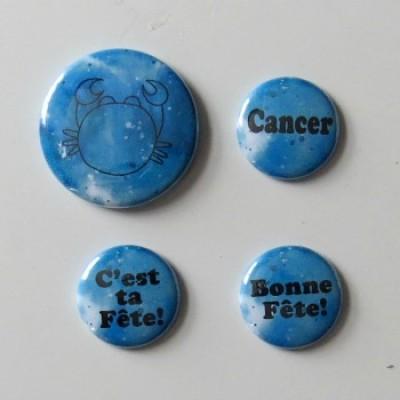 badge horoscope-cancer-bleu