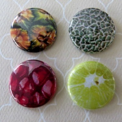 Badge texture- fruit-1