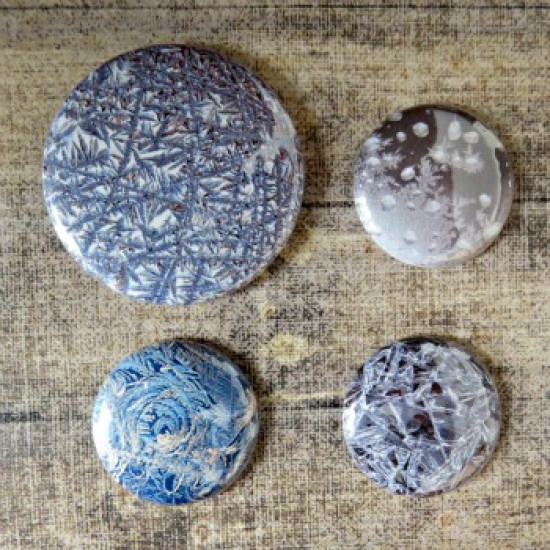 Badge texture-Glace