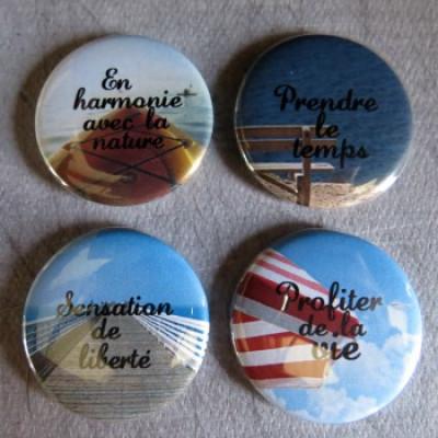 Badge texture-Harmonie