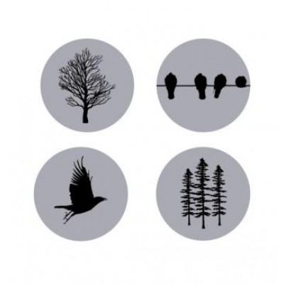Collection grise- petits badges image