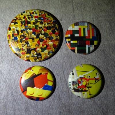 Badge texture-légo