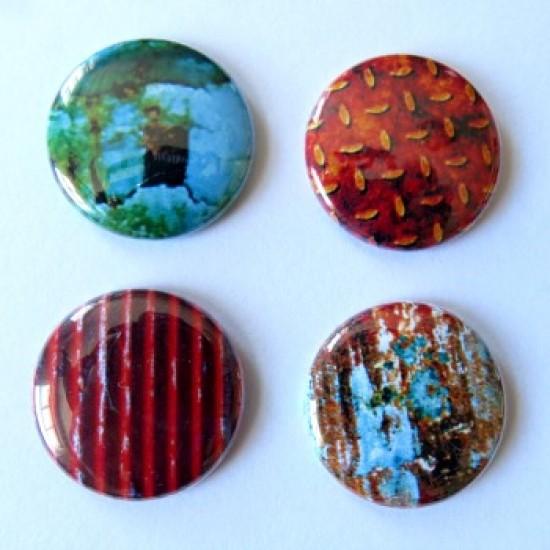 Badge texture- métal-1