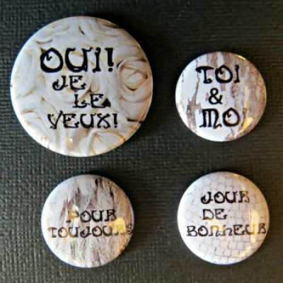 Badge citation-mariage