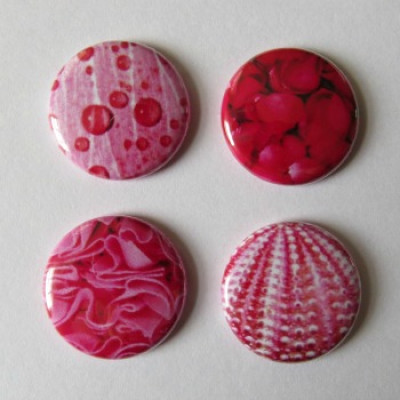 Badge texture- rose-1