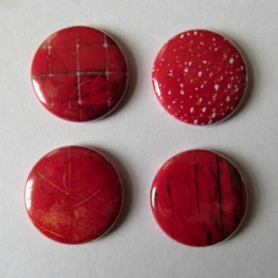 Badge texture- rouge-1