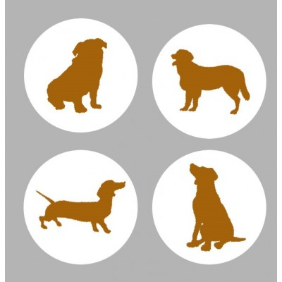 Avr2018b20- Silhouette chien (gros badge)