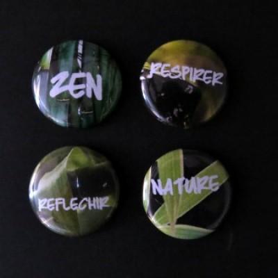 Badge mots-zen