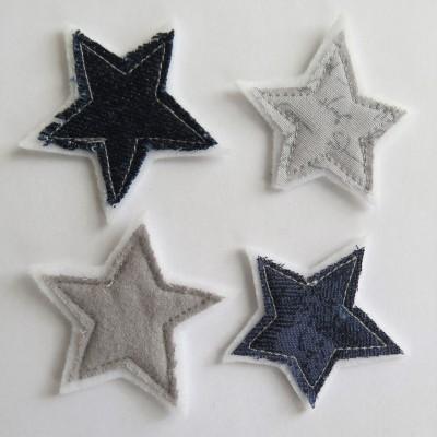 Jan2018t03- Étoiles textile
