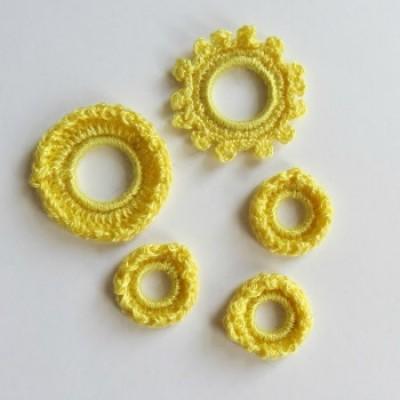 Crochet-Collection printemps-jaune